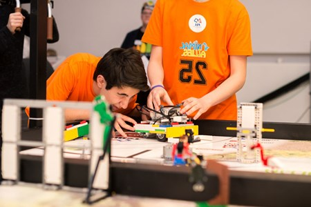 FIRST LEGO League 2016 blev en fest